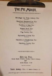 Paper menu