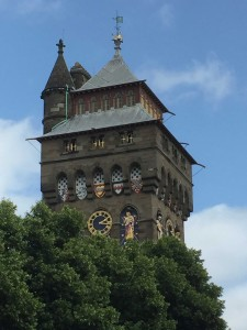 castle clock tower